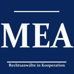 Logo MEA - blue